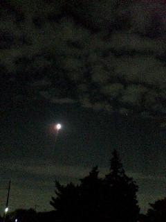 月がキレイキレイ☆